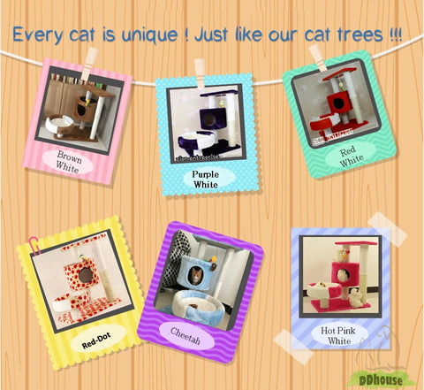 Medium size cat tree suitable for all kitten and cat