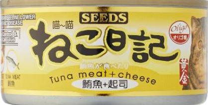 Miao Miao Tuna & Cheese 170g