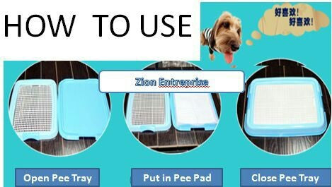 Potty pad training your dog Puppy Training Pads Tips