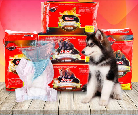 Soft disposable Pet Diaper Sigapore