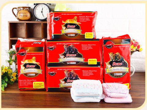Pet dog baby diapers Ready stocks