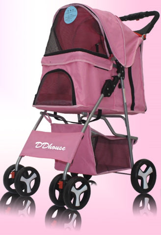 DDhouse Pet Stroller for Dogs and Cats