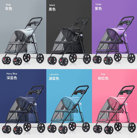 Dog Buggy On Wheels Foldable Style LightWeight