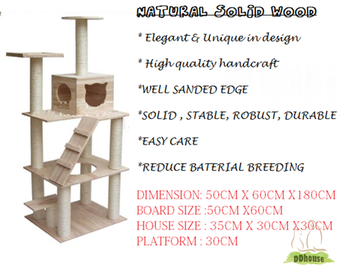 ddhouse Singapore online pet supplies - Extreme Tall Cat Tree