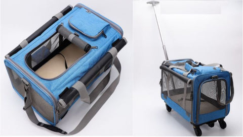 Portable and Detachable Wheels  Easily converts from a stroller, to a car seat, to a pet carrier in just minutes