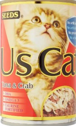 US Cat Tuna & Crab 400g