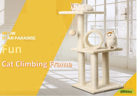 Compact Size Cat Tree - DDhouse Online Pet Supplies