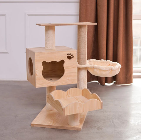 Furniture Wood Small Cat Climber singapore