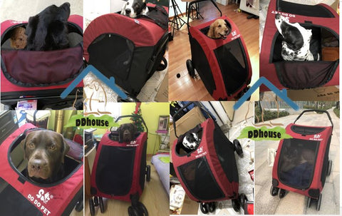 Pet Gear Expedition Pet Strollers for senior dogs Large Dogs up to 55kg
