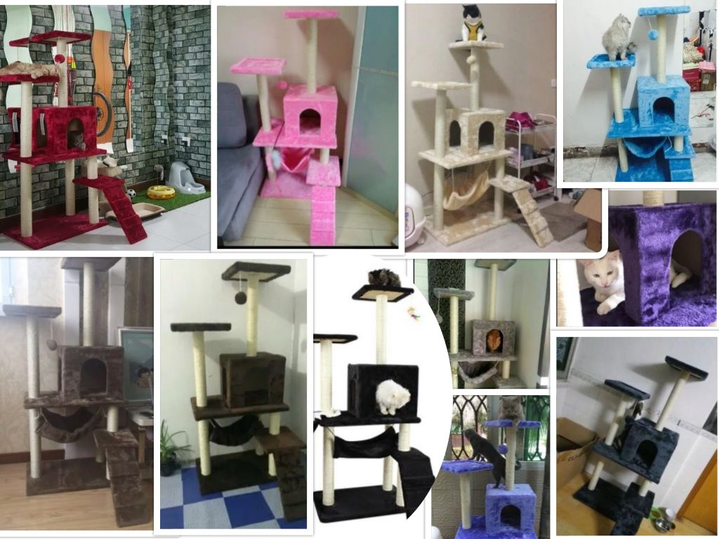 Singapore Online Pet Supplies Specialist in Cat Tree Cat Condos Fast Delivery Cheap