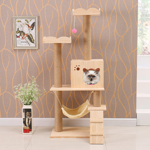 Good Quality Solid Wood Cat Trees Cat Condos Cat Towers Cat Furniture Cat Climbers Cat Playhouse Singapore