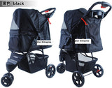 3 Wheel Pet Pram Pet Stroller - DDhouse Singapore Online Pet Supplies and Pet Products - 11
