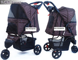 3 Wheel Pet Pram Pet Stroller - DDhouse Singapore Online Pet Supplies and Pet Products - 13