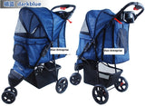 3 Wheel Pet Pram Pet Stroller - DDhouse Singapore Online Pet Supplies and Pet Products - 4