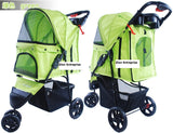 3 Wheel Pet Pram Pet Stroller - DDhouse Singapore Online Pet Supplies and Pet Products - 5