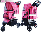 3 Wheel Pet Pram Pet Stroller - DDhouse Singapore Online Pet Supplies and Pet Products - 6
