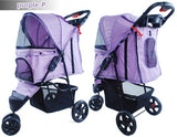 3 Wheel Pet Pram Pet Stroller - DDhouse Singapore Online Pet Supplies and Pet Products - 9
