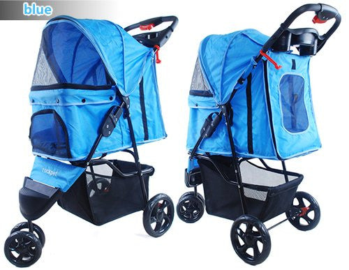 3 Wheel Pet Pram Pet Stroller - DDhouse Singapore Online Pet Supplies and Pet Products - 3