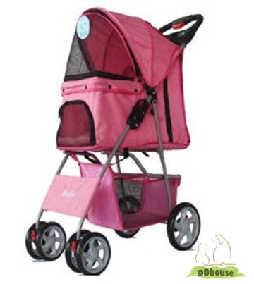 Ballerina in Grand Pink Porsche Pet Buggy Pram