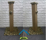 Tall  Sisal Mat Scratch Post For Cats
