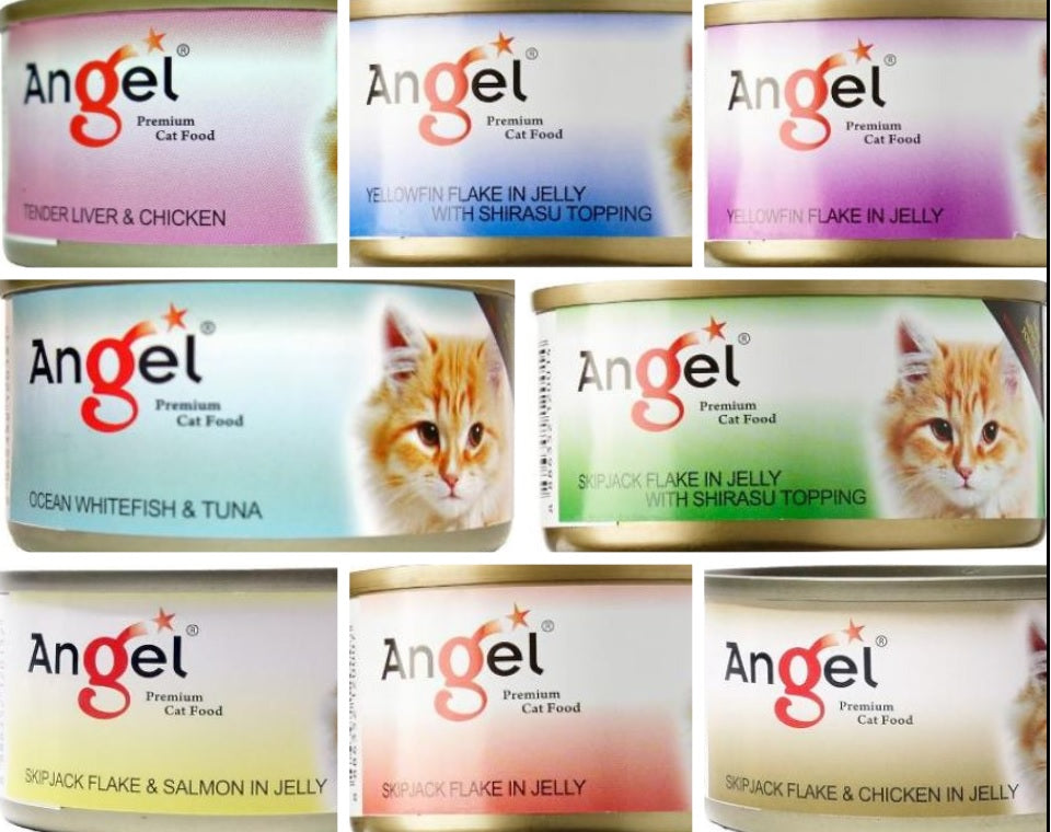 Angel Wet Cat Food Canned Food for Cats