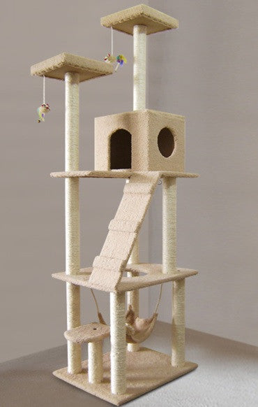 Huge Indoor 1.85m Cat Tower