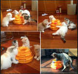 3 Tier Cat Toy Tower of Tracks - DDhouse Singapore Online Pet Supplies and Pet Products - 5