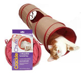 Crackle Chute Collapsible Cat Toy SmartyKat Singapore