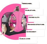 Wheel of Fun Cat Tent Cat Canopy Singapore