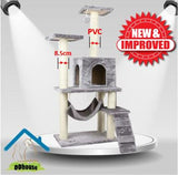 Improved Version PVC scratching Post Cat Tree Cat Towers Cat Condos Singapore Cat Towers Extra Thickness