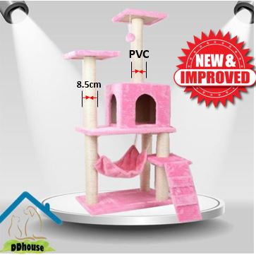 Baby Pinkish Cat Furniture Tower PVC