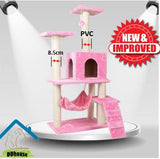 PVC Scratching Pole PVC Cat Climbers Cat Trees Extra Thickness 8.5cm Sisal Rope Scratch Pole