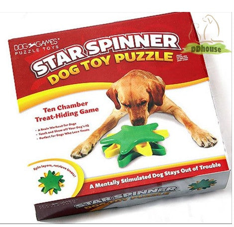 Outward Hound Star Spinner Drop Dog Toy - DDhouse Singapore Online Pet Supplies and Pet Products - 1