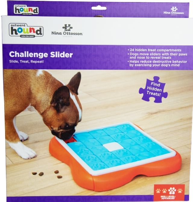 Challenge Slider Toy Pet Dog Puppy High IQ Development Training Interactive Game Toy Educational Food Feeder Toys