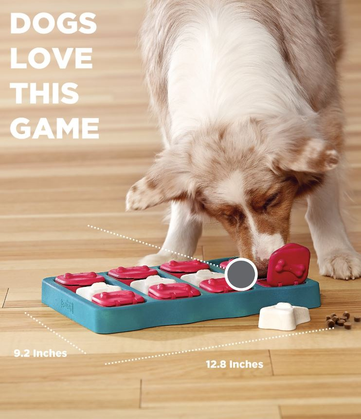 DOG BRICK Feeding Toy IQ Interactive Puzzle Game
