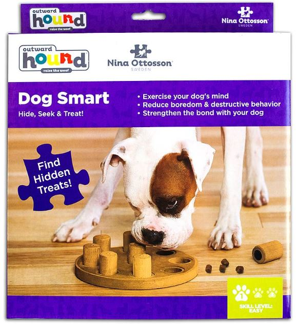 Dog Smart Composite Outward Hound Interactive Dog Toys IQ toys Outward Hound by Nina Ottosson