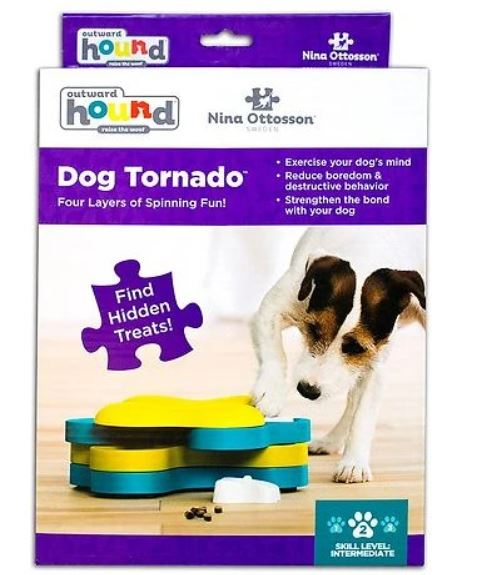 Dog Tornado Outward Hound Interactive Dog Toys IQ toys Outward Hound by Nina Ottosson