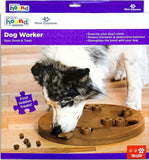 GREAT FOR ALL DOGS: Elevated play pieces in the Hide N' Slide help dogs access treats and move pieces more easily keeping them entertained and engaged.