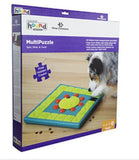MultiPuzzle Dog Toy Pet Dog Puppy High IQ Development Training Interactive Game Toy Educational Food Feeder Toys