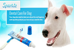 All For Paws Dog Dental Care Products Toothbrush Tooth paste And finger Brush