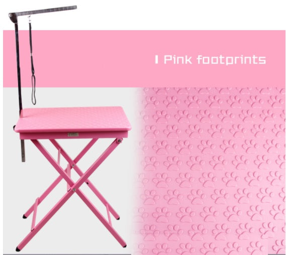 Paw Print Pet Grooming Table