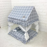 dog bed with roof pet Canopy bed