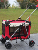Good Ventilation Large Space Pet Pram Pet Strollers Singapore