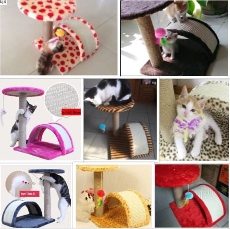 Deluxe Small Size Cat Tree Scratching Board