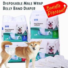 Male Dog Diapers Pad Pet Supplies Urine Removal Pad Belly Band male waist wrap pet nappy