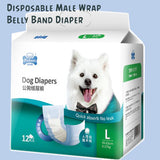 L Size Male Dog Diapers Belly Band Waist Wrap Singapore
