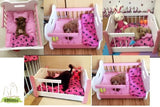 Wooden Pet Beds Solid Wood Pet Crate - DDhouse Singapore Online Pet Supplies and Pet Products - 5