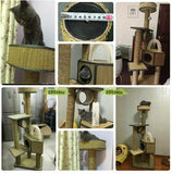 Premium Seagrass Cat Playing House
