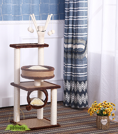 Open Concept Classic Design Cat Tree