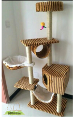 4 Tier Cat Climber With Multiple Resting Hub